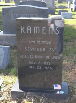 "Seymour Milton ""Sy"" Kamens"