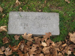 Alice <I>Coleman</I> Adams