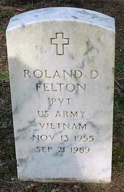 Roland D Felton