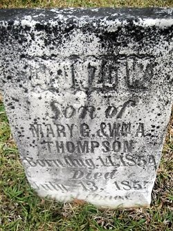 Alonzo W Thompson