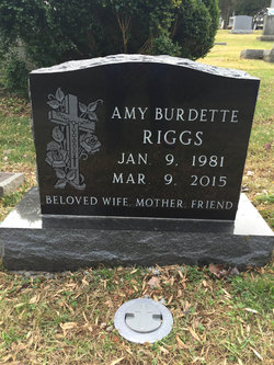 Amy <I>Burdette</I> Riggs
