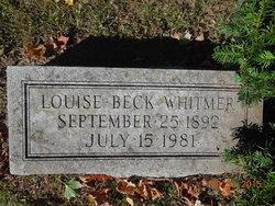 Louise <I>Beck</I> Whitmer