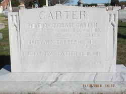 Philemon Cubbage Carter