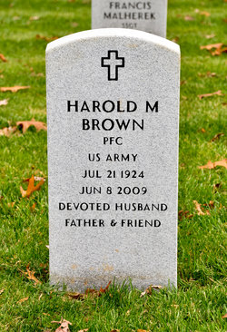 PFC Harold M. Brown