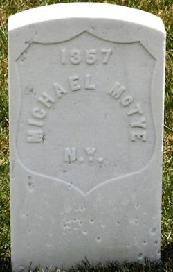 Pvt Michael McTye