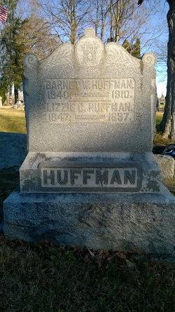 "Elizabeth C. ""Lizzie"" <I>Conger</I> Huffman"