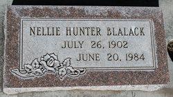 Nellie <I>Hunter</I> Blalack