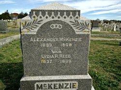 Lydia B. <I>Reed</I> McKenzie
