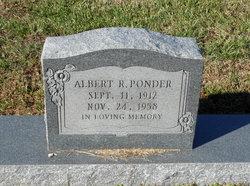 Albert R. Ponder, Jr