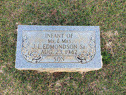 Infant Son Edmondson