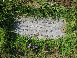 Phyllis Esther <I>Walker</I> Stone