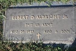 """Elbert DeWitt """"Squire"""" Albright, Jr"""