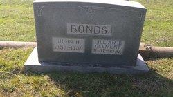Lillian <I>Clement</I> Bonds