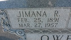 Jimana R. <I>Howard</I> Owen