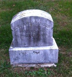 Deborah Gest <I>Haines</I> Dickinson