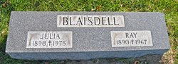 Julia Bernice <I>Cooney</I> Blaisdell