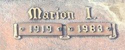 Marion <I>Nicholas</I> Betts