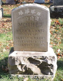 Hilda Beatrice <I>Lantz</I> Baker