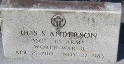 Ulis Sherman Anderson