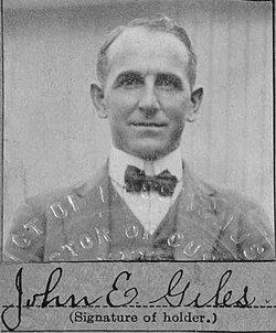 Capt John Edward Giles