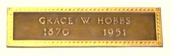 Grace <I>West</I> Hobbs