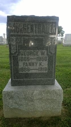 Fanny K <I>Keyworth</I> Morgenthaler