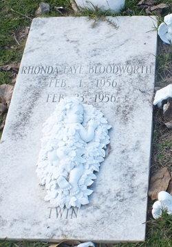 Rhonda Faye Bloodworth