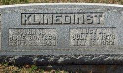 Lucy Ann <I>Copp</I> Klinedinst
