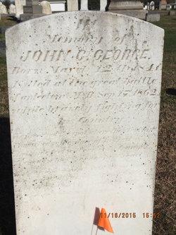 Pvt John G. George