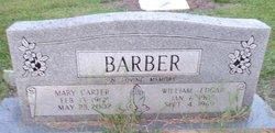 Mary Evelyn <I>Carter</I> Barber