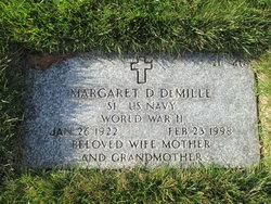 Margaret D Demille
