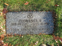 Florence E Deslauriers