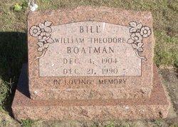 """William Theodore """"Bill"""" Boatman"""