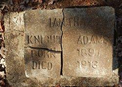Iantha M. <I>Knight</I> Adams