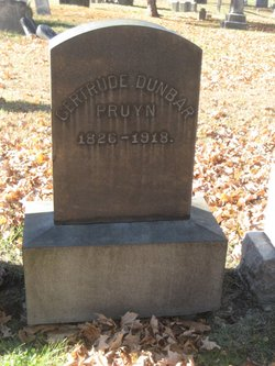 Gertrude Dunbar <I>Visscher</I> Pruyn