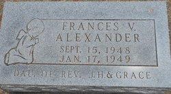Frances V. Alexander