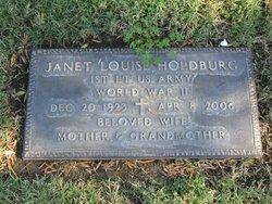 Janet Louise <I>Schledorn</I> Holdburg