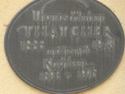 """Thomas Herbert """"Jack"""" Thatcher"""