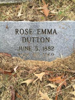 Rose Emma <I>Bishop</I> Dutton