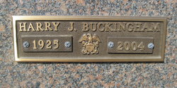 Harry Jackson Buckingham