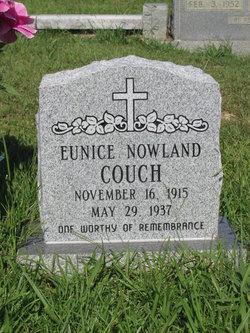 Eunice <I>Nowland</I> Couch