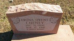 Frona <I>Owens</I> Cheney
