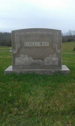 Hallie Cleveland <I>Snedegar</I> Galloway