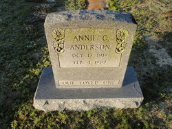 Annie Mae <I>Carr</I> Anderson