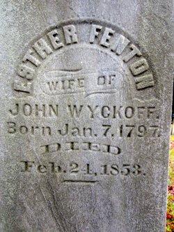 Esther <I>Finton</I> Wyckoff