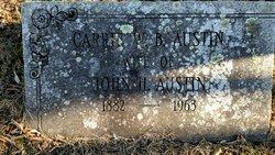 Carrie Jane <I>Beardsley</I> Austin