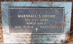 """Marshall Smith """"Buddy"""" Goode"""