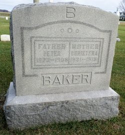 Christena <I>Mathia</I> Baker