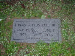 Paris Sutton Tate, III