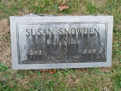 Susan <I>Snowden</I> Chaney